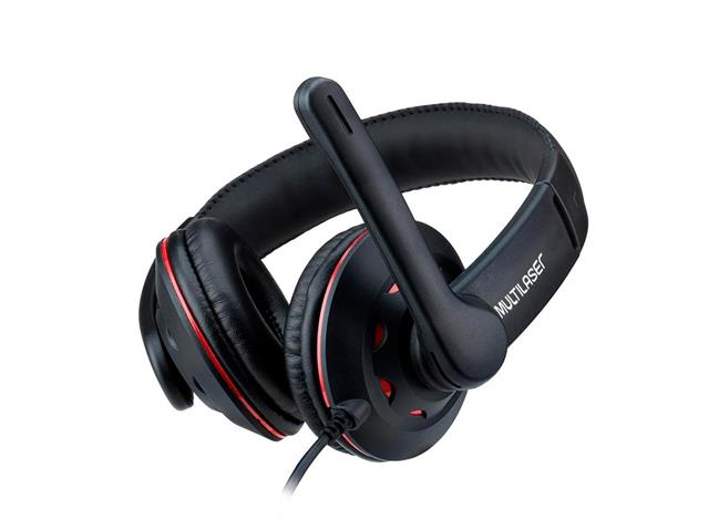 Fone de Ouvido Headset Gamer Multilaser PH335 P2+P3 Preto - 2
