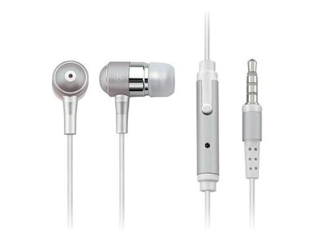 Fone de Ouvido Multilaser PH062 Intra Auricular com Microfone Prata