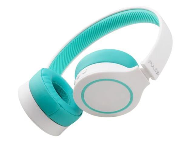 Fone de Ouvido Bluetooth Pulse PH342 Head Beats 5.0 Branco e Verde - 1