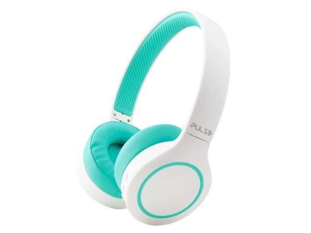 Fone de Ouvido Bluetooth Pulse PH342 Head Beats 5.0 Branco e Verde