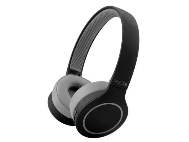 Fone de Ouvido Bluetooth Pulse PH339 Head Beats 5.0 Preto e Cinza
