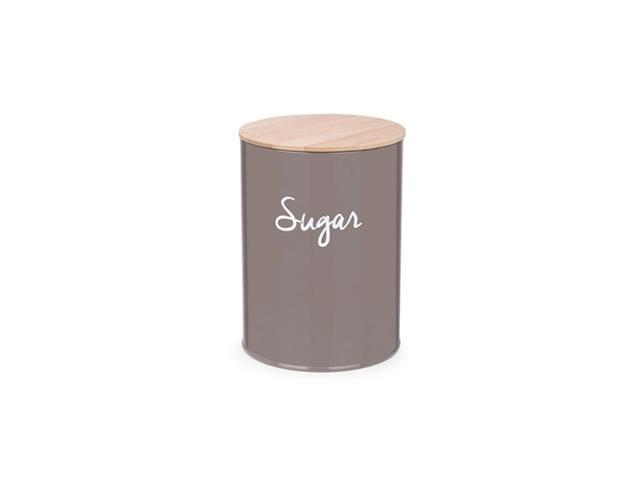 Pote Redondo para Açúcar Haus Canister Warm Gray 11x15CM
