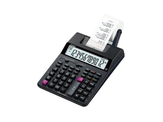 Calculadora Casio com Impressora 12 Dígitos HR-100RC