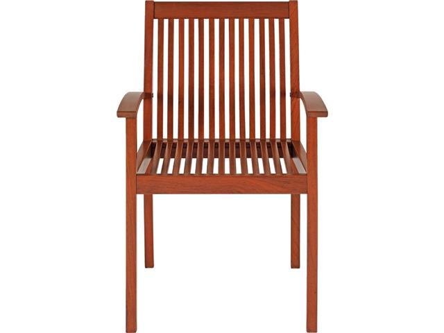 Cadeira de Madeira Tramontina em Jatobá com Braços - 2