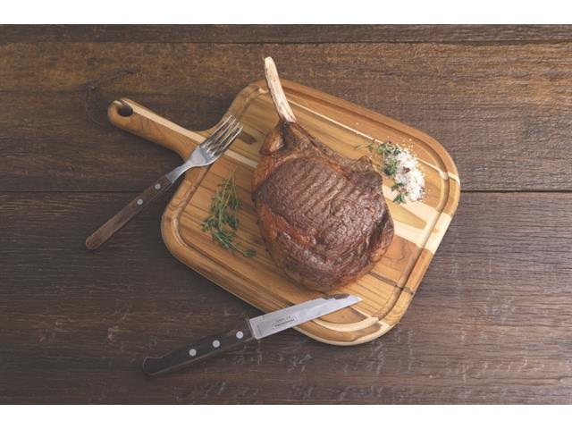 Tábua para Steak Tramontina Provence em Teca com Cabo 40x27CM - 1