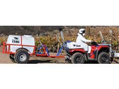 Bajo Cebú: Carro Herbicida de Tiro, estanque 500 lts. - Celagro