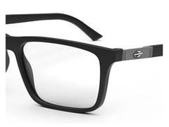 Óculos de Grau Clip-On Mormaii Swap 4 Preto Fosco Cinza - 2