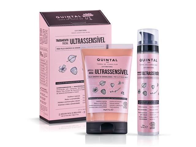 Kit Quintal Dermacosméticos Tratamento Ultrassensível