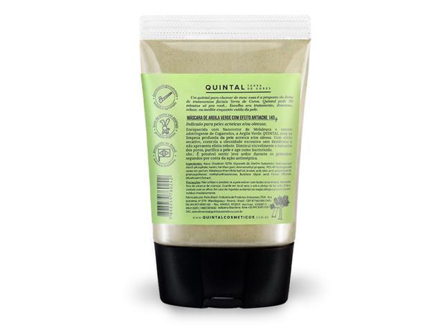 Máscara de Argila Quintal Dermacosméticos Verde Antiacne - 1
