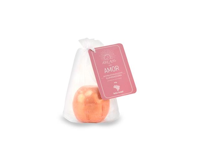 Bomba Efervescente Iluminadora Amor Feito Brasil Ouro Rosa 60G - 1