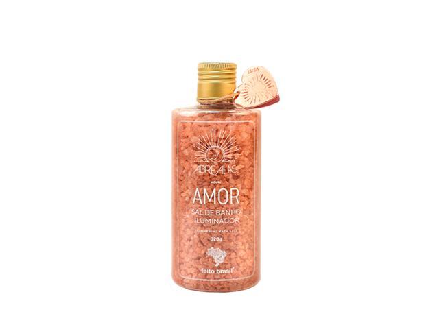 Sal de Banho Iluminador Amor Feito Brasil Ouro Rosa 320G