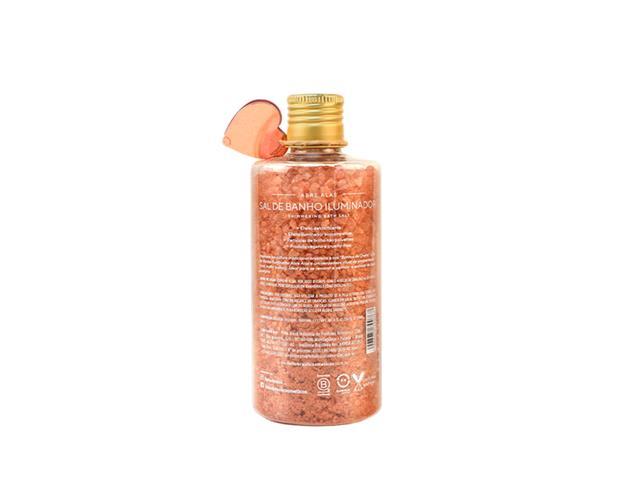 Sal de Banho Iluminador Amor Feito Brasil Ouro Rosa 320G - 1