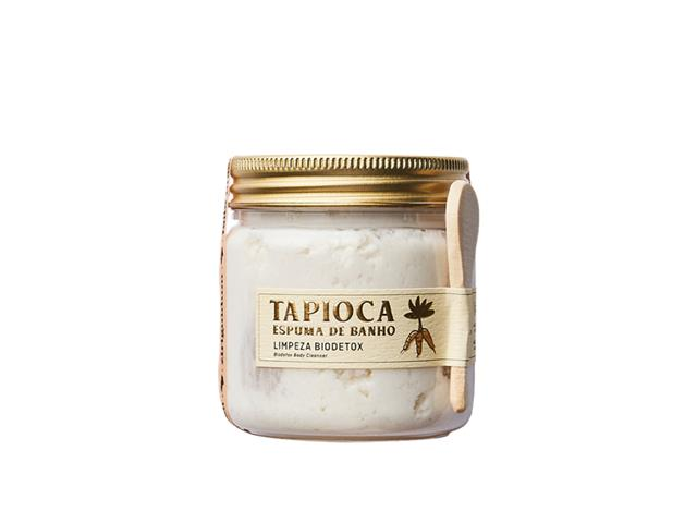 Tapioca Espuma de Banho Feito Brasil Ziriguidum Limpeza Biodetox 150G