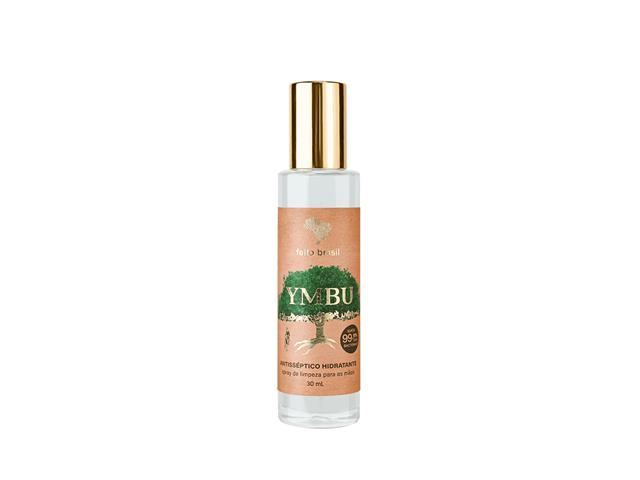 Spray de Limpeza para Mãos Feito Brasil Antisséptico Hidratante 30ML