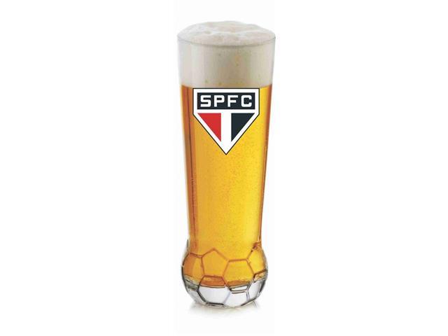 Copo para Cerveja em Formato de Bola São Paulo 370ML