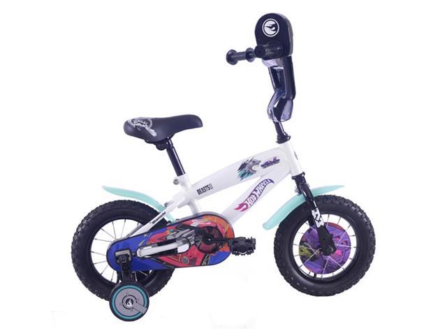 Bicicleta Hot Wheels Aro 12 Blanco