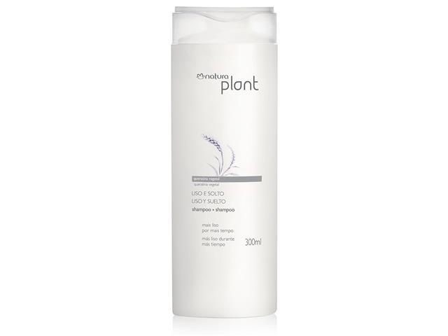 Shampoo Natura Plant Liso e Solto 300mL