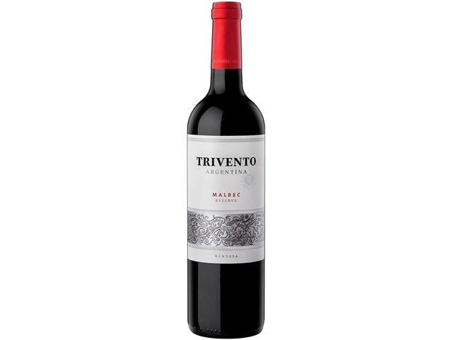 Vinho Argentino Trivento Reserve Malbec 750ML Tinto