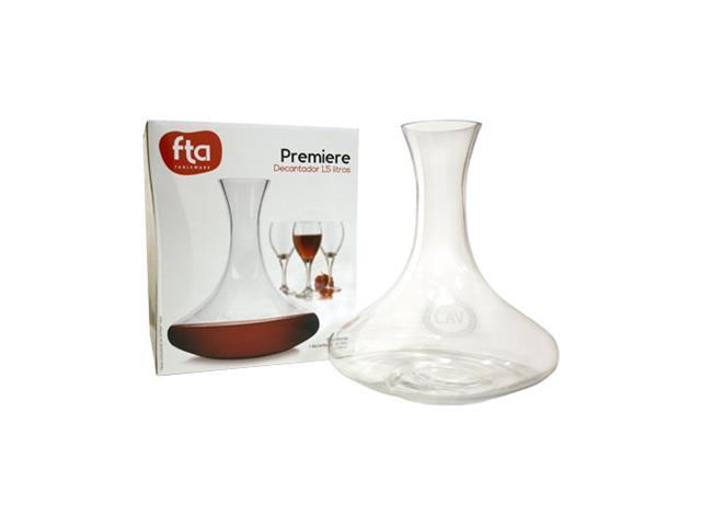 Decantador de vino vidrio 1,5 fiesta