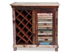 Bar y cava de vinos de madera  - 0