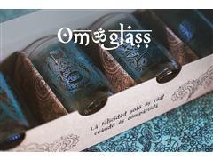 Set 4 vasos GREEN GLASS Om Glass de 330 ml - 0