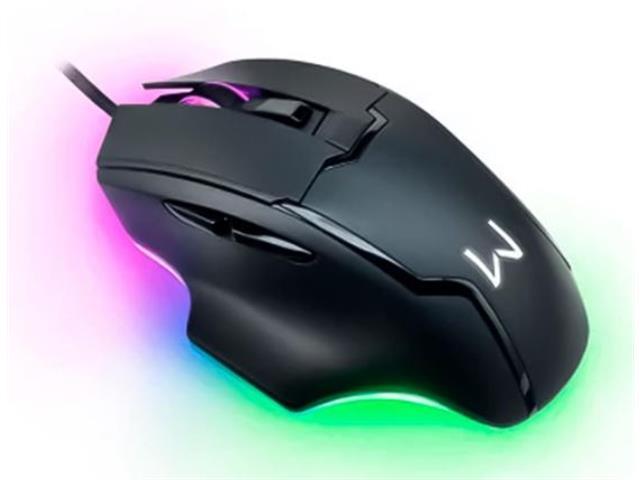 Mouse Gamer Warrior MO297 Rainbow Gunter 6400DPI