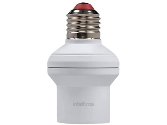 Interruptor Inteligente Soquete E27 Intelbras EWS 400 Branco