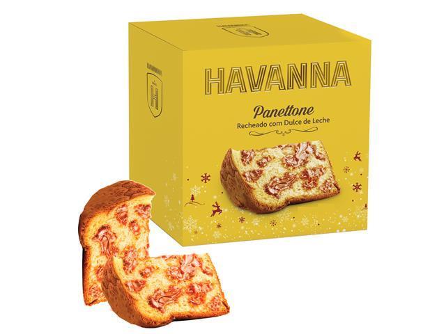 Combo 2 Panettones Havanna Doce de Leite 700g Cada - 1