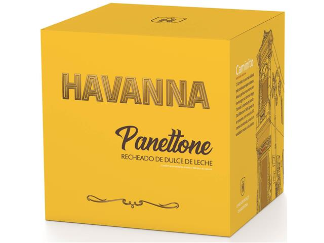 Combo 2 Panettones Havanna Doce de Leite 700g Cada - 6