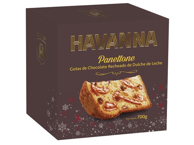 Combo 2 Panettones Havanna Gotas de Chocolate com Doce de Leite 700g - 3