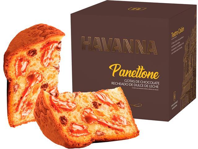 Combo 2 Panettones Havanna Gotas de Chocolate com Doce de Leite 700g - 2