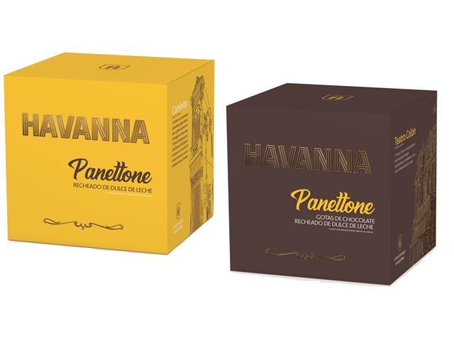 Combo Panettone Havanna Doce de Leite + Gotas com Doce de Leite 700G - 7