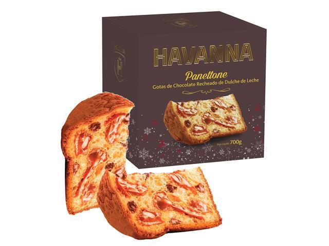 Combo Panettone Havanna Doce de Leite+Gotas de Chocolate com DDL 700G - 2