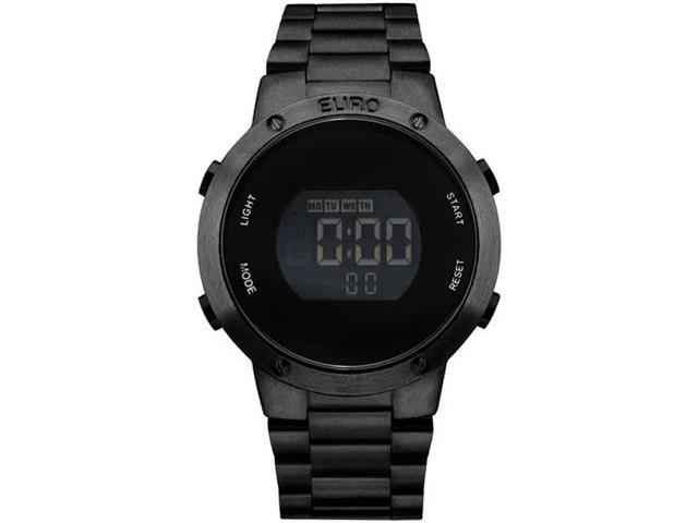 Relógio Feminino Euro Fashion Fit All Black EUBJ3279AB/4P