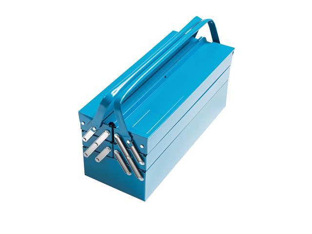 Caja sanfonada para herramientas 5 cajones
