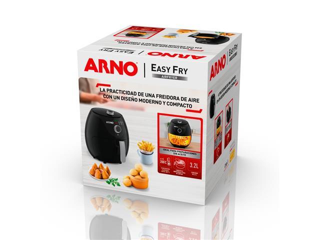 Fritadeira Elétrica sem Óleo Arno Air Fry Easy 3,2 Litros Black