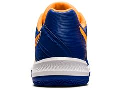 Tênis Asics Gel-Padel Pro 4 Monaco Blue/Orange Pop Masculino - 3