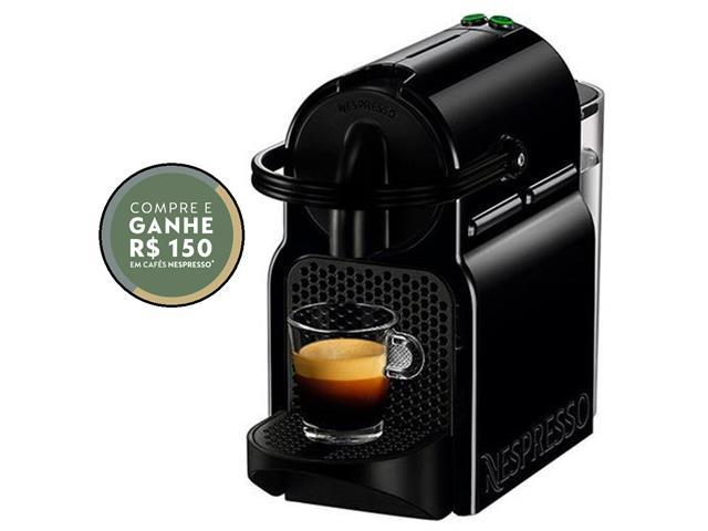 Cafeteira Nespresso Automática Inissia Preta 220v