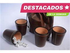 Pack Vino Cabo de Hornos + Set 4 cachos cuero genuino - 1