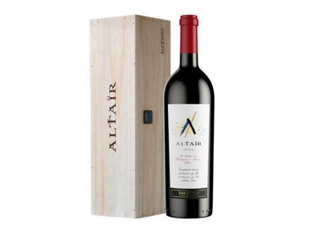 Vino Altair + Cinturon cuero genuino