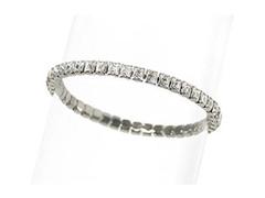 Pulseira Crystal Prata DSE decorada com cristais da Swarovski®