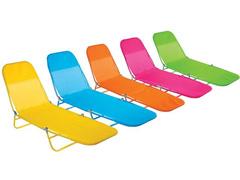 Cadeira Espreguiçadeira Dobrável MOR Fashion Cor Sortida
