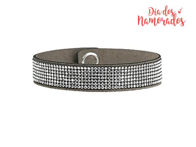 Pulseira DSE Chic Glamour decorada com cristais da Swarovski®