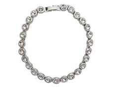 Pulseira DSE decorada com cristais da Swarovski® prata