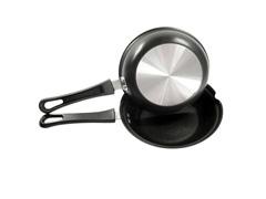 Omeleteira Fortaleza Preta 18 cm - 1