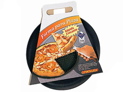 Assadeira/Forma Furada para Pizza Italizana Fortaleza