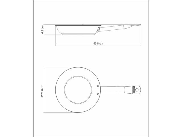 Frigideira Tramontina Professional Aço Inox Ø 20CM - 4