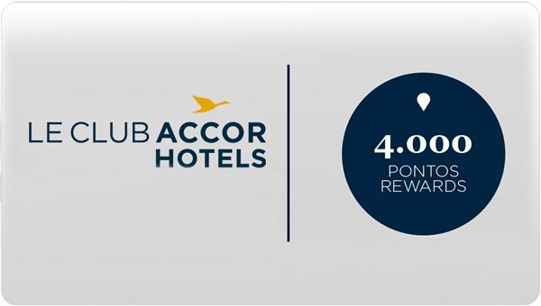 Le Club AccorHotels - 4.000 pontos Rewards