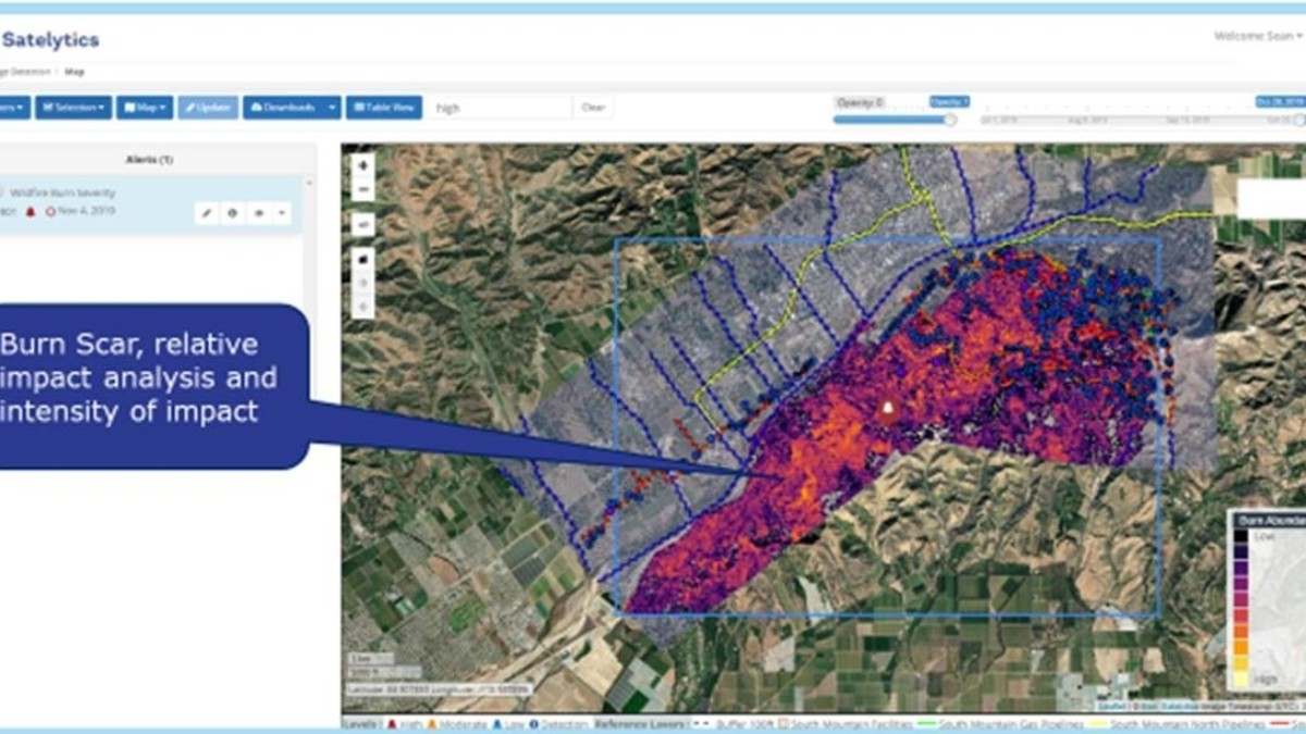 Wildfire Burn Scar Analysis Can Predict Infrastructure Damage