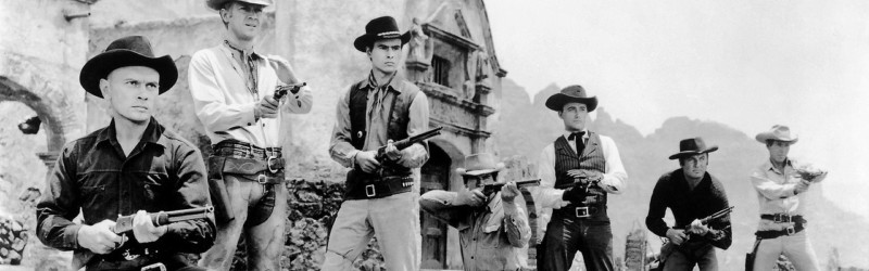 The Magnificent Seven, you thought it was a 60's western . . .